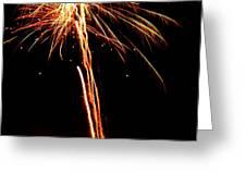 Backyard Fireworks 2012 3 Greeting Card