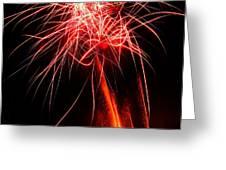 Backyard Fireworks 2012 4 Greeting Card