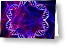 Bacterial Dna, Artwork Greeting Card