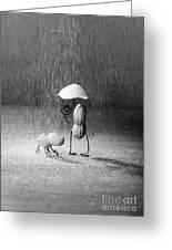 Bad Weather 01 Greeting Card
