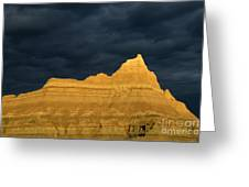 Badlands Early Light Greeting Card
