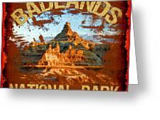 Badlands National Park Greeting Card