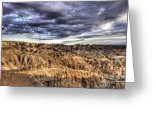 Badlands Of South Dakota Greeting Card