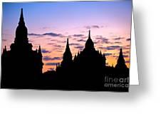 Bagan Greeting Card