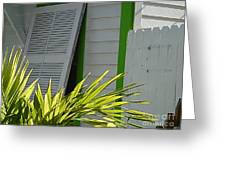 Bahama Conch House Greeting Card