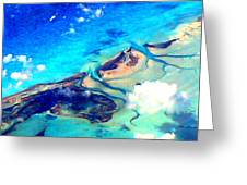 Bahama Out Island Filtered Greeting Card