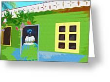Bahiana Greeting Card