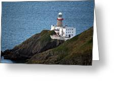 Baily Lighthouse Greeting Card
