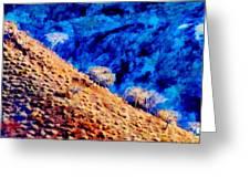 Baja California Coast - Sea Of Cortez Greeting Card