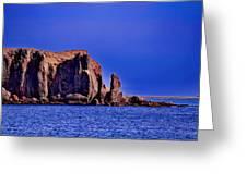 Baja Elephant Rock Greeting Card