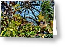 Balboa Park Botanical Gardens Greeting Card