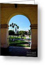 Balboa Park  Greeting Card