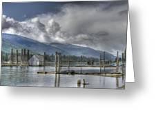 Balfour On Kootenay Lake Greeting Card