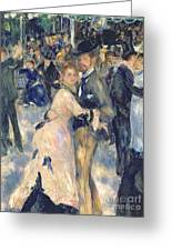 Ball At The Moulin De La Galette Greeting Card