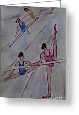 Ballerina Studio Greeting Card