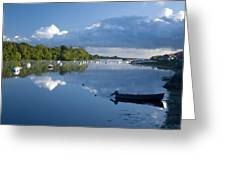 Ballina, Co Mayo, Ireland Morning Greeting Card