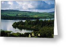 Ballindoon Abbey, Lough Arrow, Co Greeting Card