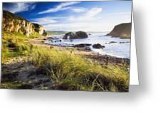 Ballintoy, County Antrim, Ireland Beach Greeting Card