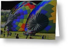 Balloon Dreamscape  4 Greeting Card