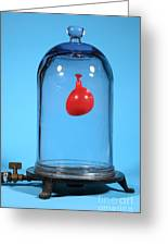 Balloon In A Vacuum, 1 Of 6 Greeting Card