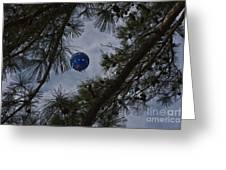 Balloon In The Pines Greeting Card
