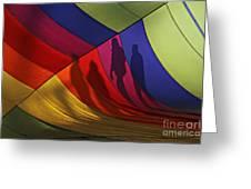 Balloon Shadows Greeting Card