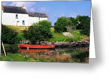 Ballycrovane, Beara Peninsula, Co Cork Greeting Card