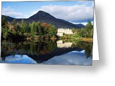Ballynahinch Castle Hotel, Twelve Bens Greeting Card