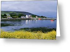 Ballyvaughan, Co Clare, Ireland Small Greeting Card