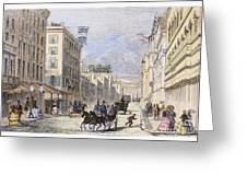 Baltimore, 1856 Greeting Card