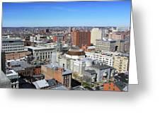 Baltimore Nw Greeting Card