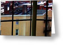 Baltimore Rooftops Greeting Card