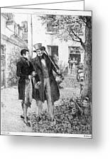 Balzac: Le P�re Goriot Greeting Card