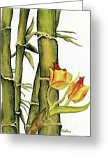 Bamboo Paradise Greeting Card
