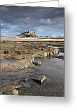 Bamburgh, Northumberland, England Greeting Card by John Short