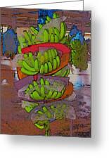 Banana Harvest Greeting Card