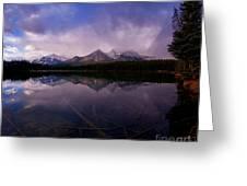 Banff - Herbert Lake Greeting Card