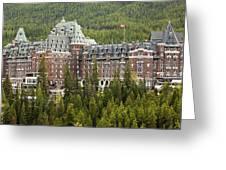 Banff Hotel 1684 Greeting Card