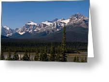 Banff National Park Panorama Greeting Card