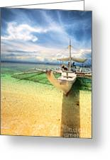Bangka Sa Dagat Greeting Card