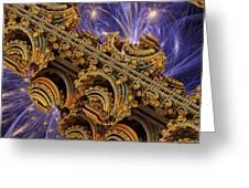 Bangkok Palace Greeting Card by Pam Blackstone