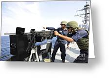 Bangladesh Navy Sailors Fire Greeting Card
