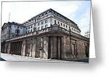 Bank Of England Greeting Card