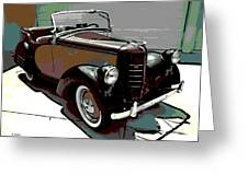 Bantam Speedster Greeting Card