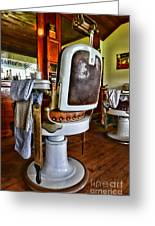 Barber - Barber Chair Greeting Card