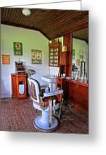 Barber Shop 2 Greeting Card