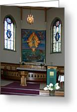 Barbu Kirke Altar Greeting Card