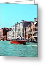 Barca Di Venezia Greeting Card