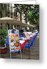 Barcelona Tapas Bar Greeting Card