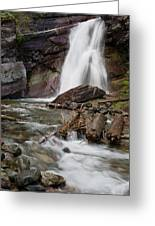 Baring Falls In Spring Greeting Card